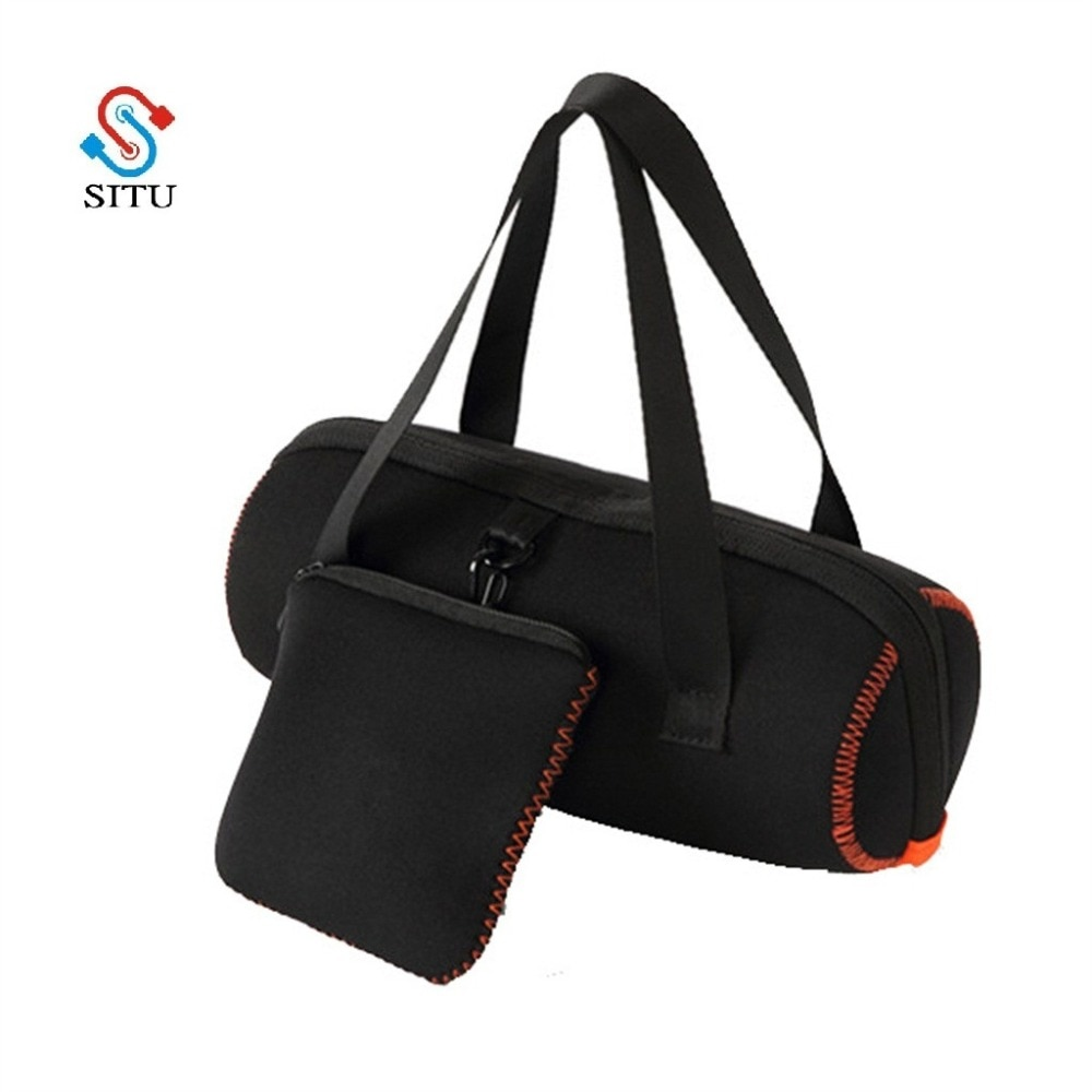 Bolsa Universal caliente para JBL charge 4 para JBL Pulse3 Altavoz Bluetooth Estuche de transporte funda cartuchera bolsa con mango envío gratis