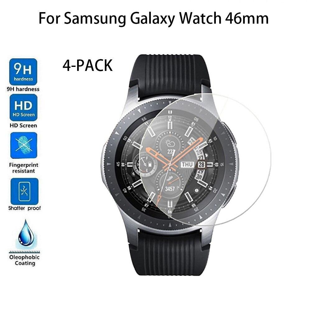 Protector de pantalla de cristal templado para Samsung Galaxy Watch de 46mm, para dispositivos portátiles, smartwatch, relogios, drop shopping