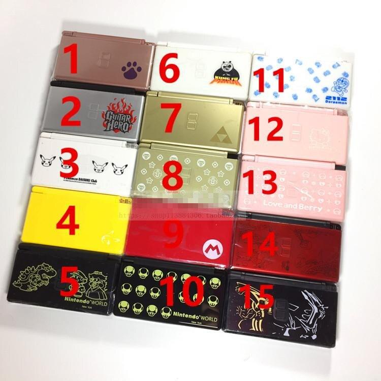 Nueva carcasa de reemplazo de carcasa de cubierta de cobertura completa para Nintendo DS Lite DSL