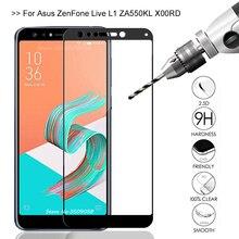 Film protecteur décran pour Asus Zenfone 5 Lite ZC600KL verre de protection sur Zenfone 5 Lite ZC600KL ZC 600KL X017D Film de verre sklo