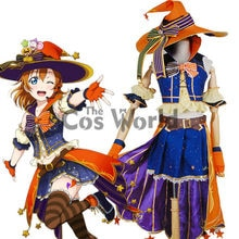 Love Live School Idol Project Kousaka Honoka Halloween Dress Uniform Outfit Anime Customize Cosplay Costumes
