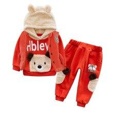 Anlencool-ensemble de vêtements ourson Teddy   Manteau dhiver trois pièces pour bébés garçons, nouvelle collection