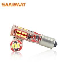 2x LED BAX9S SAARMAT H6W lâmpada 6000 K Branco 19SMD Chips Canbus Nenhum Erro LED Car Luzes de Estacionamento lâmpada DRL 12 V Para Mercedes W210 E420