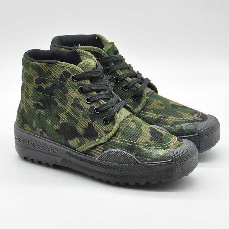 Calzado deportivo táctico de exterior para hombre, calzado militar de camuflaje para entrenamiento, calzado antideslizantes para hombres de 35 a 45 yardas