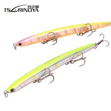 TSURINOYA DW47 Sinking Pencil Fishing Lure 12g 110mm Lures Treble Hooks Slim Hard Artificial Bait Fishing Lures Wobble