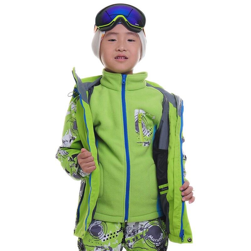 Прямая поставка утепленная ветрозащитная куртка для девочек и мальчиков
