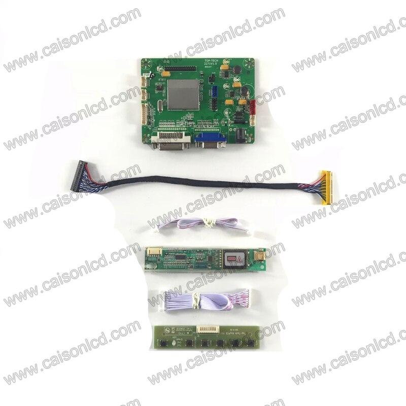 TP2271 controlador LCD Junta apoyo DVI VGA para panel LCD de 17 pulgadas 1440X900 B170WP04 V0 LTN170WX-L05 B170PW01 V1 v0 B170PW03 V1