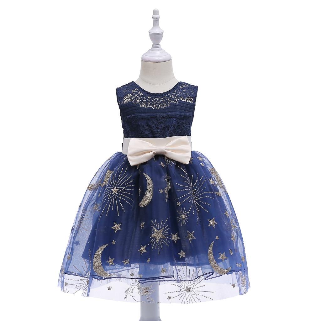 Europa y los Estados Unidos verano Vestidos nuevos niñas encaje hueco tutú niños Flash vestido de princesa #1