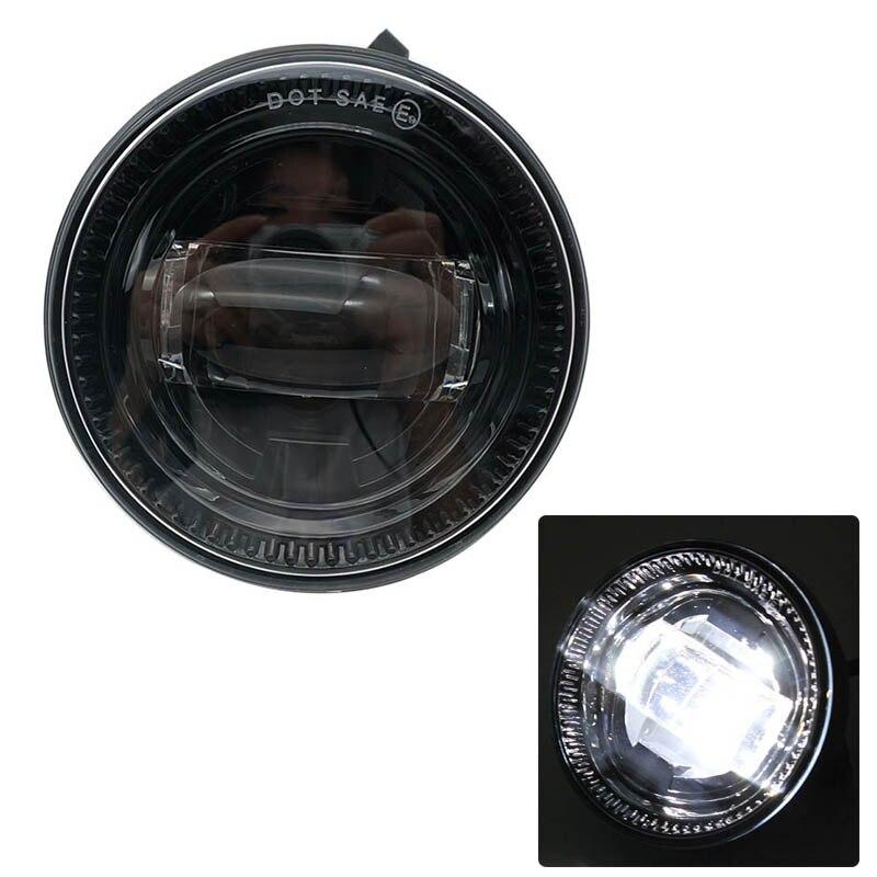 1 par de faros antiniebla de 4,5 pulgadas, 30W, techo del coche con luz LED antiniebla, soporte de lámparas de conducción para Ford F150 09-14 Ranger, accesorios de coche, Expedition