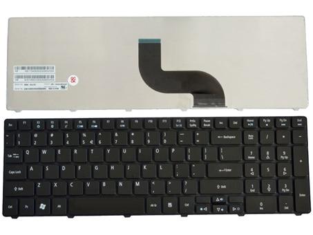 New eua teclado portátil para Acer Aspire 5741Z 5741ZG 5810 5810 T 5810TG 5810TZ 5810TZG 7336 7340 7340 G 7535 7535 G