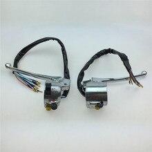 Starpad llave para jialing JH70 accesorios de motocicleta alrededor de la combinación de interruptor de faro interruptor freno embrague mangos
