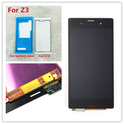 "JIEYER 5,2 ""для SONY Xperia Z3 дисплей сенсорный экран дигитайзер для SONY Xperia Z3 ЖК-экран двойной D6603 D6633 D6653 L55T"