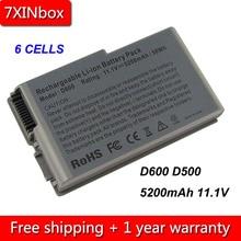 7XINbox 6cell 5200mAh Laptop Battery For Dell Inspiron 500m 510m 600m Latitude D500 D505 D510 D520 D530 D600 D610 3R305 M9014