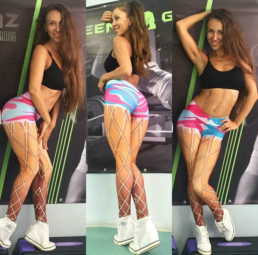 Gran oferta de Leggings para Fitness con estampado de Mandala y menta, Leggings de alta elasticidad para mujer, mallas de moda
