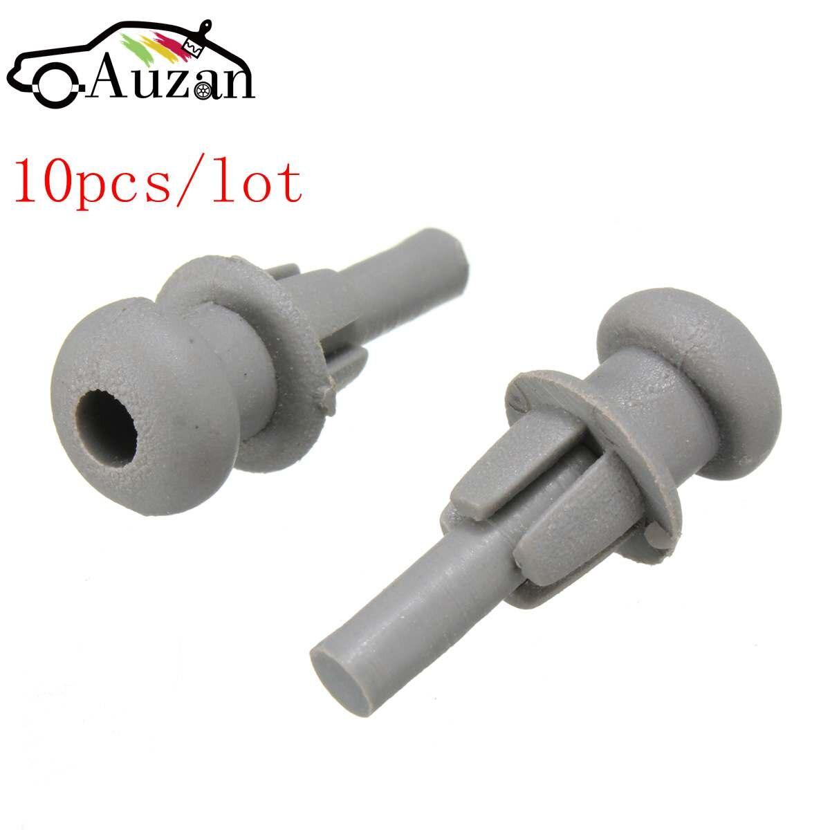 Paquete gris 10x, clip de estante para cuerda de cuerda para CITROEN SAXO C2 C3 XSARA PICASSO
