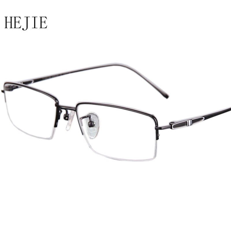 High Quality Men Pure Titanium Eyeglasses Frames Brand Myopia Glasses Frame For Male Size 55-17-140 Y1007