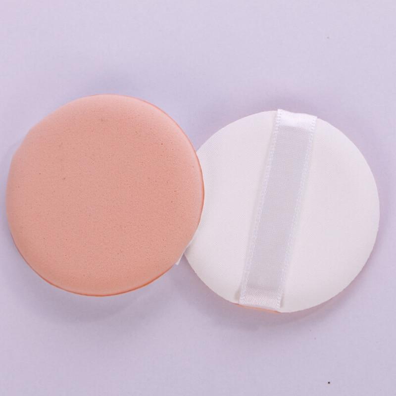 50pcs/lot Cosmetic Powder Puff Cosmetic Beauty Makeup Foundation Soft Sponge BB Cream Air Cushion Puff LOGO Custom Maquiagem