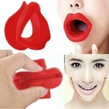 Yüz Slimmer egzersiz ağız parçası kas kırışıklık karşıtı dudak eğitmen ağız masaj aleti ağızlık gevşeme yüz bakımı