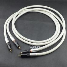 Tara Labs Prime M2 interconnect rca kabel A-OF8N kupfer geflochtene schild 1,5 M Apair