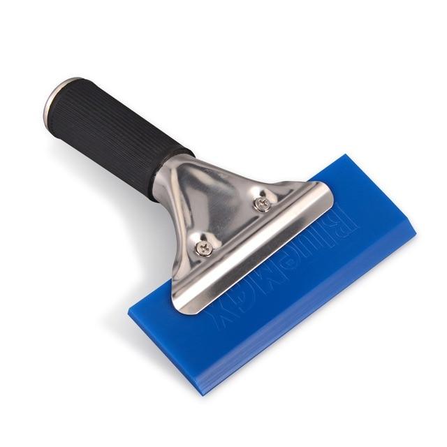 EHDIS ручной скребок BLUEMAX резиновое лезвие автомобильный водный скребок для льда лопата для снега окна оттенок кухонный бытовой инструмент для очистки