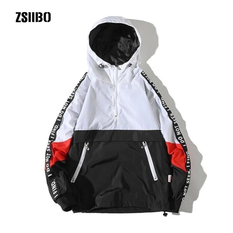 ZSIIBO hooded sweatshirt men's autumn style loose hooded assault large size men's hooded sweatshirts Hoody WGWY29