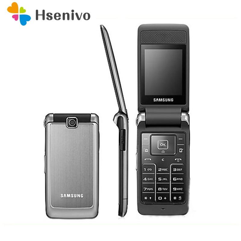 Samsung-هاتف خلوي Samsung S3600 مجدد ، هاتف خلوي أصلي غير مقفول ، هاتف خلوي يدعم شريحة اتصال 2G ، كاميرا 1.3 ميجابكسل ، لوحة مفاتيح روسية