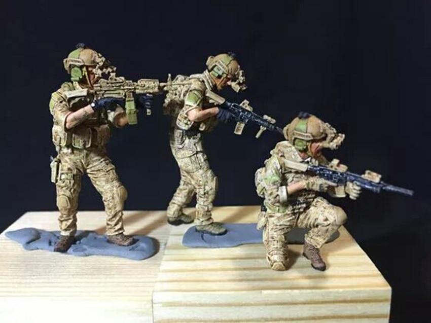 1/35 Kit de modelo de figura de resina Unassambled sin pintar X65