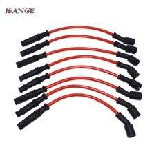 ISANCE chispa de encendido Cable con enchufe 10,2mm para Chevrolet Corvette GMC 1999, 2000, 2001, 2002, 2003-2013 M8-29192 29192R