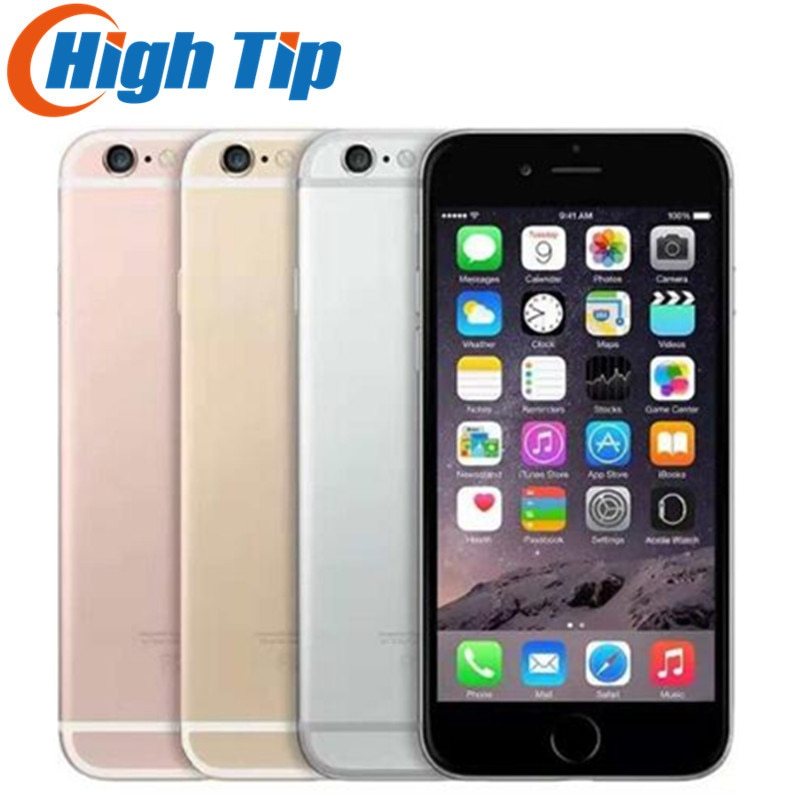 Teléfono móvil usado LTE Apple iPhone 6S Plus, iPhone desbloqueado, Dual Core, 2GB RAM, 16 GB/64 GB/5,5 GB ROM, pantalla de 128 pulgadas, IOS, cámara de 12,0mp, Chip A9