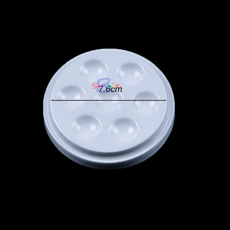 Dental Labor Runde Porzellan Keramik Mischen Material Bewässerung Nass Fach Werkzeug 7 Slot