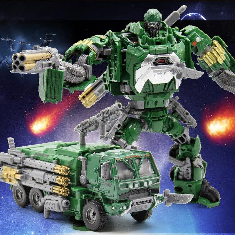 Wj transformação 5 figura de ação liga hound j8012 metal parte brinquedos deformação robô abelha menino millitary brinquedos para crianças presentes