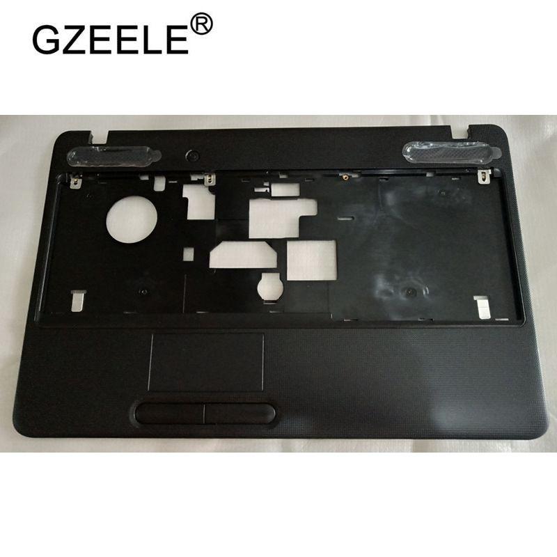 GZEELE nuevo para Toshiba Satellite C650 C655 C655D cubierta superior con reposamanos bisel KB sin Touchpad V000220030 cubierta