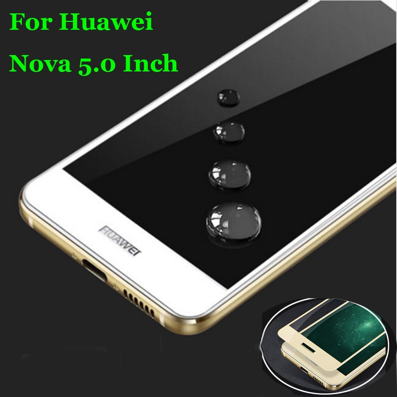 For Huawei Nova 5.0 Inch Full Coverage Tempered Glass 9H 2.5D Premium Screen Protector Film For Huaw