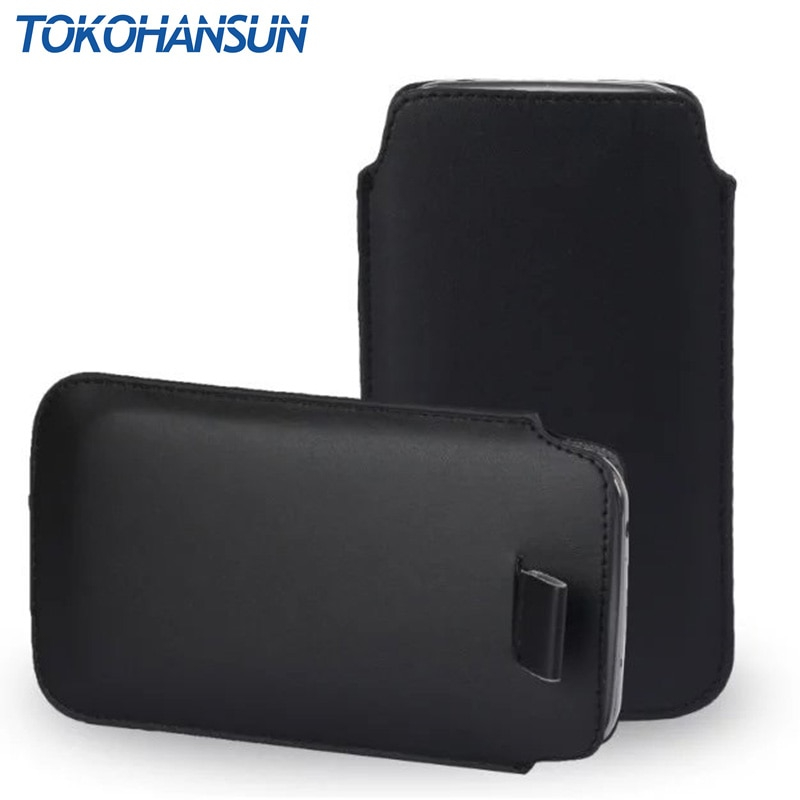 Funda TOKOHANSUN Teléfono universal para Prestigio Muze G5 LTE 5522 PSP5522 H5 LTE 5523 J3 3470 DUO PU Funda de cuero maletines