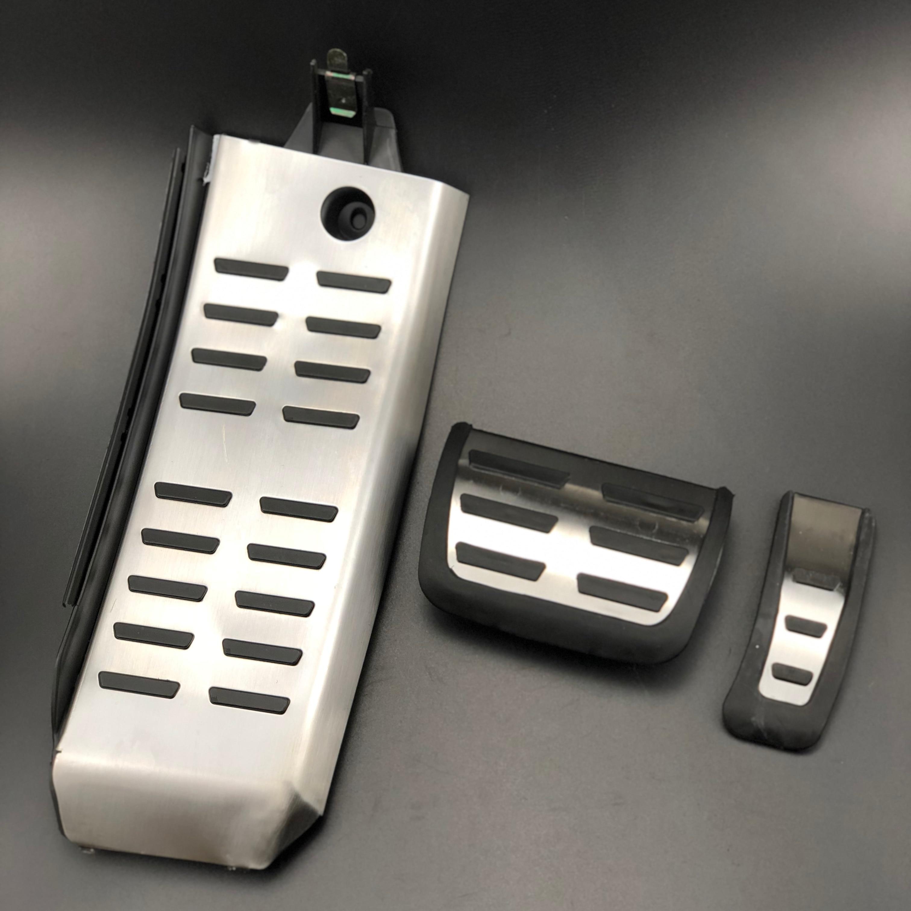 Автомобильный Стайлинг DSG спортивный Топливный Газ Тормозная Подножка педаль чехол для Audi A6 (4F) C6 S6 AT 2008-2012