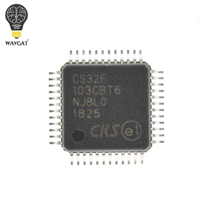 CS32F103CBT6 reemplazo completo STM32F103CBT6 STM32F103 LQFP-48 en Stock MCU de 32 bits basado en brazo con Flash para STM32