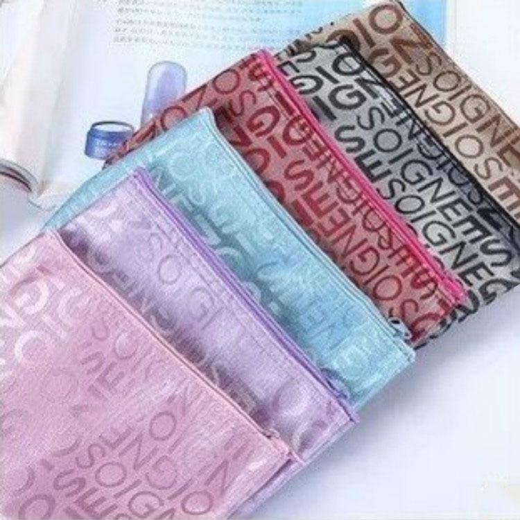 Cheap Toiletry Bag Waterproof Cosmetic Bag Printing Letters Cute Makeup Bag Toiletry Bag Storage Gift Neceser Mujer Wholesale