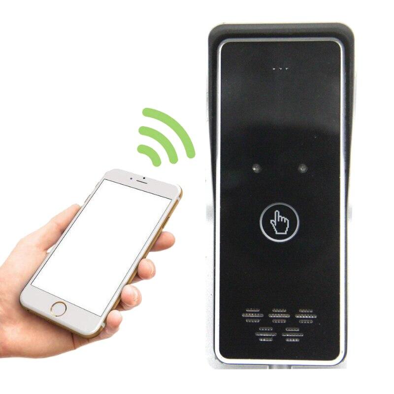 Sistema de intercomunicación GSM para apartamento kit de Control DE ACCESO carga de llamada gratuita para puerta abatible Control remoto abierto K6s