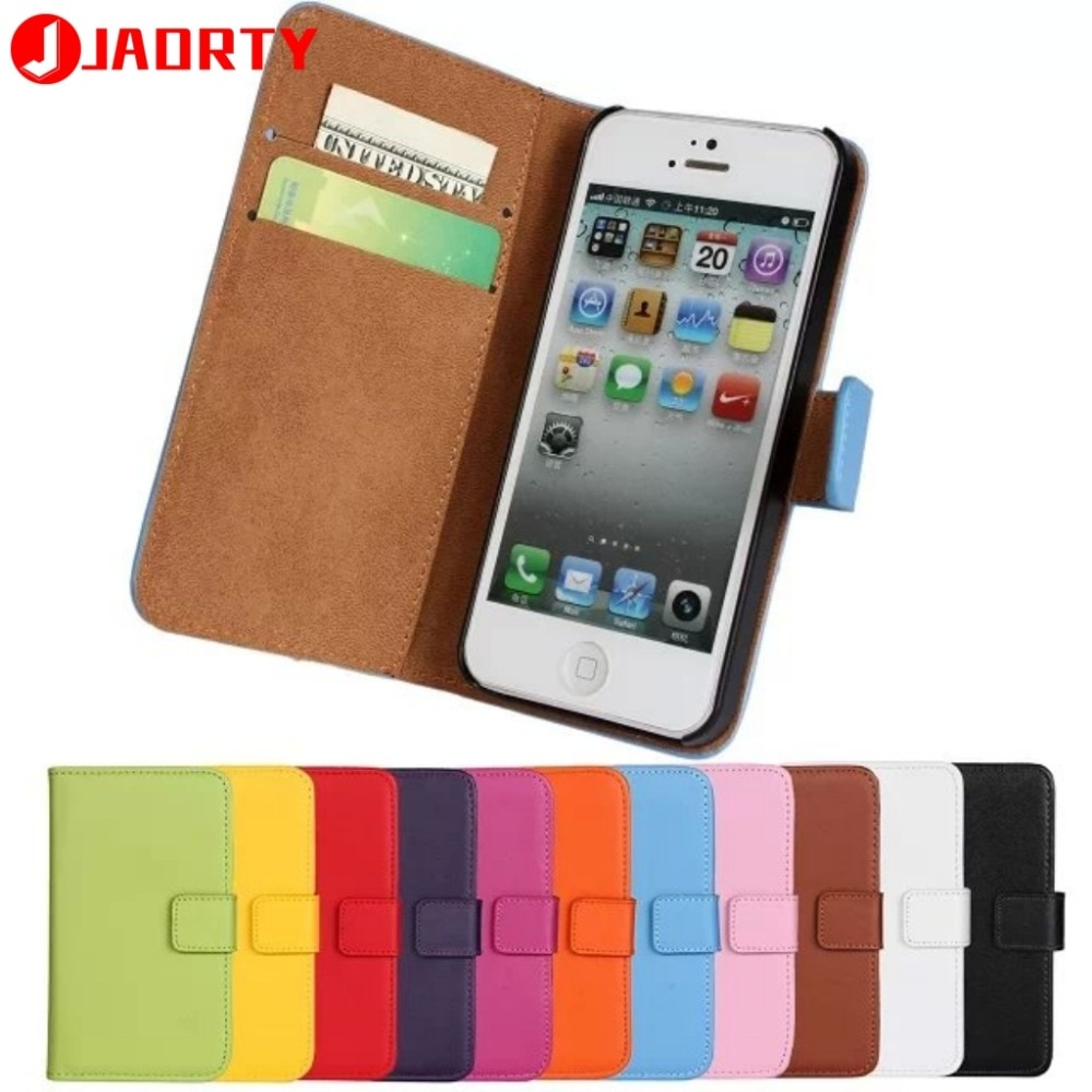 Funda para Apple iPhone 5 5S iPhone SE Funda de cuero tarjetero funda billetera Coque iPhone5 funda de teléfono funda con tapa soporte