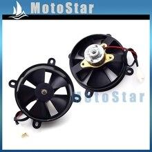 Radiator Thermal Cooling Fan For Chinese 200cc 250cc Chinese ATV Quad Go Kart Buggy Dirt Pit Motor Bike 4 Wheeler UTV Motorcycle