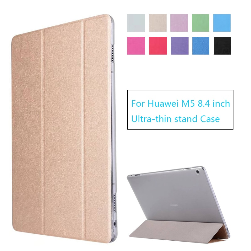 Funda de piel sintética para Huawei MediaPad M5 de 8,4 pulgadas, funda protectora para Tablet y PC para Huawei M5 8,4 lte, funda SHT-AL09 SHT-W09
