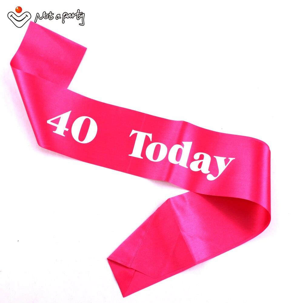 3 uds fiesta suministros de Decoración de cumpleaños feliz cumpleaños marco divertido regalo para Adultos 18 21 30 40 50 60 recuerdo cintas de decoración