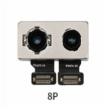 Haute qualité caméra arrière caméra arrière câble flexible pour iPhone 8P grande caméra câble réparation pièces de rechange