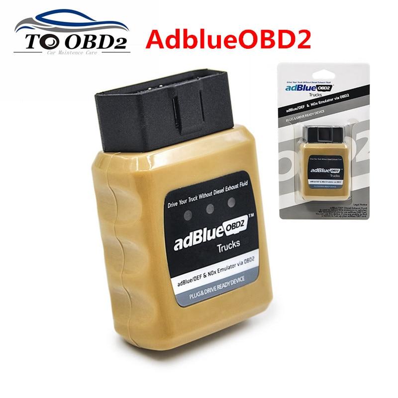 Emulador AdBlue NOX emulación AdblueOBD2 Plug & Drive listo dispositivo Adblue OBD2 para IVECO/VOLVO/DAF/MAN camión resistente