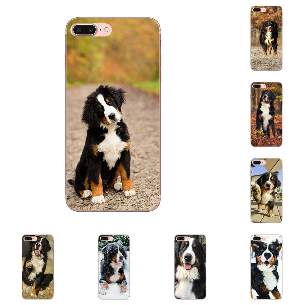 Venta caliente de moda Berner Sennen perro Bernese montaña para Xiaomi Note 3 4 mi 3 mi 4 mi 4C mi 4i mi 5 mi 5S 5X6 6X A1 Max mi x 2