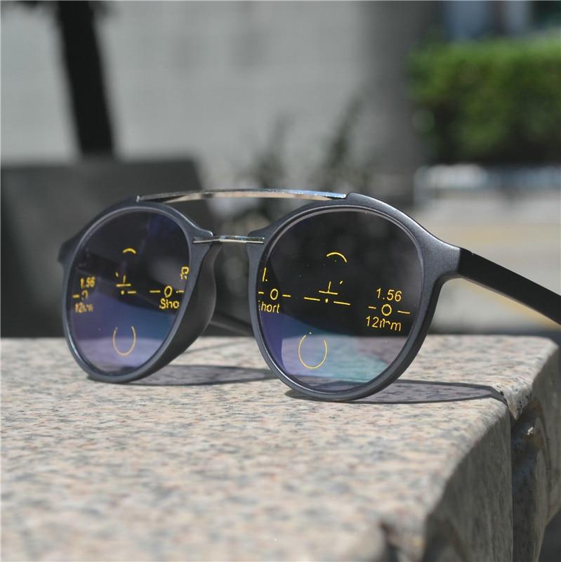 Прогрессивные многофокальные очки для чтения мужские Регулируемые Квадратные Солнцезащитные фотохромные уличные солнцезащитные очки с коробкой NX