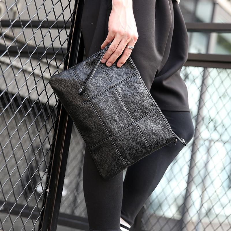 Tidog Mão em mão para agarrar saco de embreagem de moda
