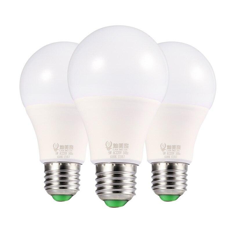 LED Bulb Light Screw E 27 AC85-265v 5 W 7W 12W Constant Current Drive Indoor Lighting Energy Saving Lamp CMJ-QPD-005