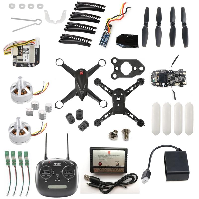 MJX B5W bichos 5W JJPRO X5 RC Quadcopter de piezas de repuesto de drones motor hélice hoja shell cuerpo receptor CES cargador de mando