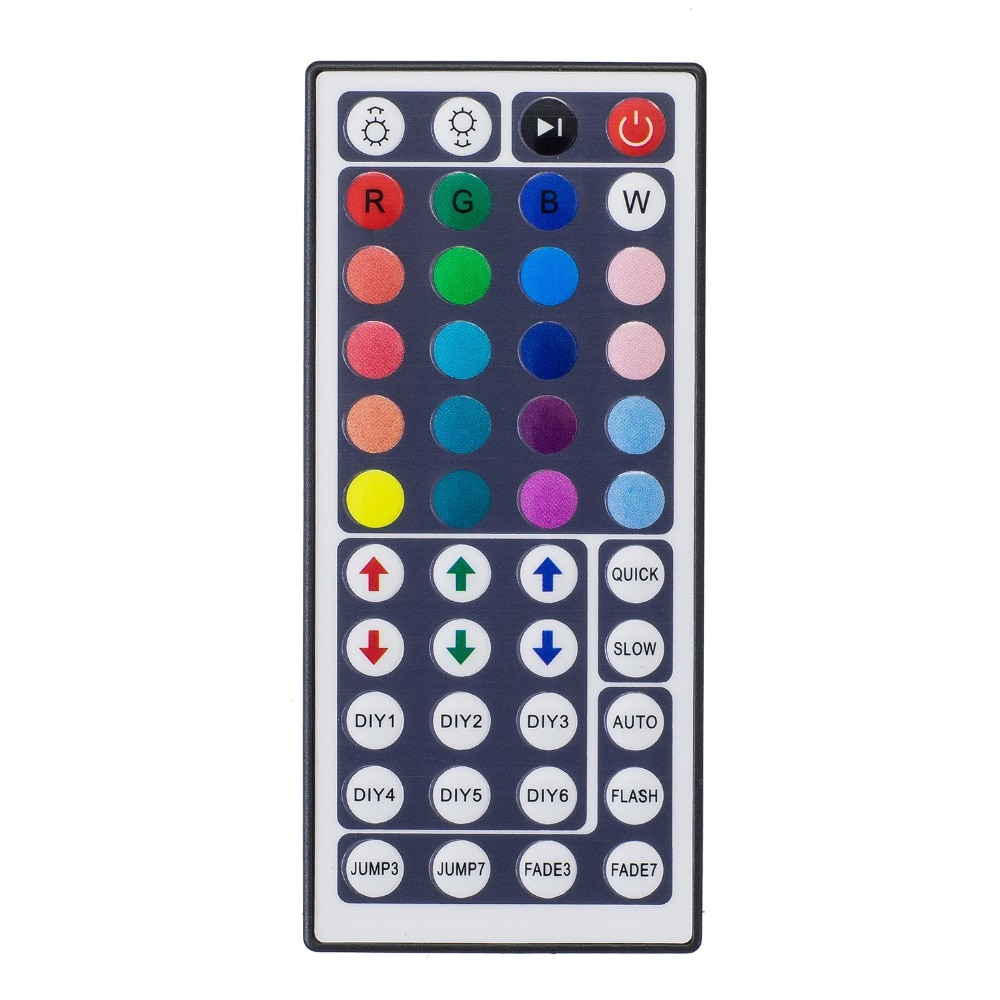 Led Controller 44 Keys LED IR RGB Controler LED Lichter Controller IR Fernbedienung Dimmer DC12V 6A Für RGB 3528 5050 LED Streifen